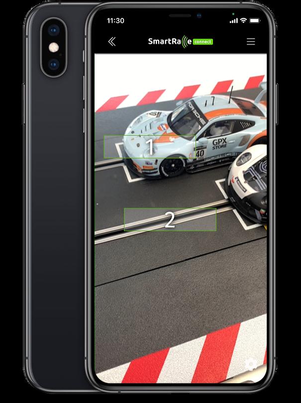Zeitmessung per Bilderkennung für analoge Rennbahnen, Innovativ, einfach und zugänglich.